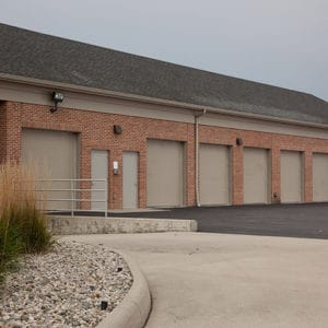 616 Solid Sandstone commercial garage doors