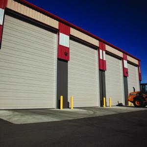 2411 Sandstone Commercial Doors