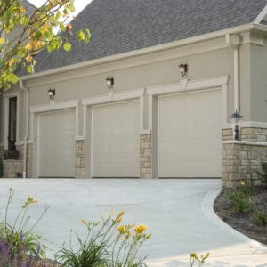 680 Solid Sahara Tan Garage Doors