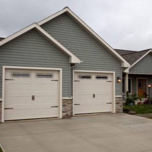 674 Prairie Sahara Tan Garage Doors