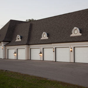680 Solid White Garage Doors