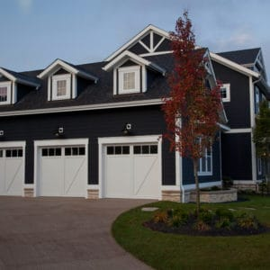 941 3p White Garage Doors