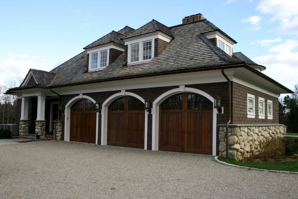 Architectural Door Wooden Garage Doors Carriage Doors