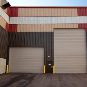 C2411 Sandstone Commercial Doors