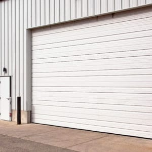 C2015 White Overhead Door